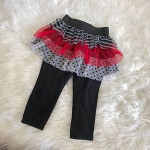 Disney Leggings with Skirt Minnie Mouse